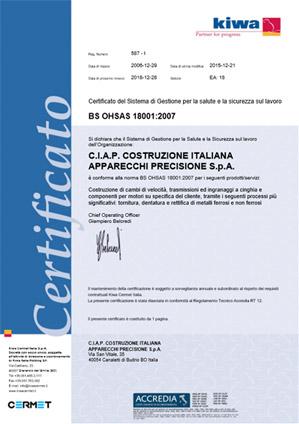 certificato-sicurezza-ciap-ingranaggi