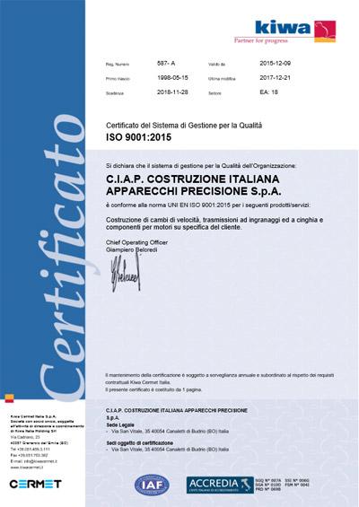 certificato-qualita-ciap-ingranaggi